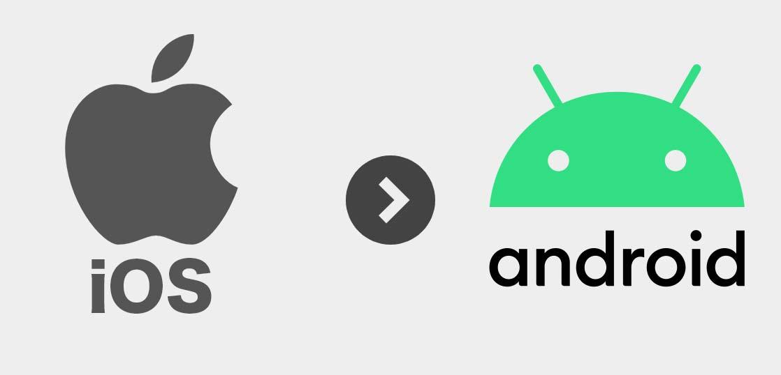 iPhoneからAndroid へデータ移行の方法