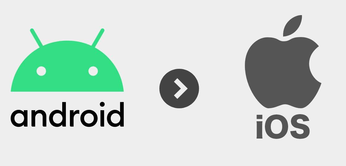 AndroidからiPhone へデータ移行の方法